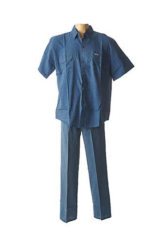 Top/pantalon bleu AMPARO pour homme