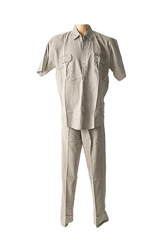 Top/pantalon gris AMPARO pour homme