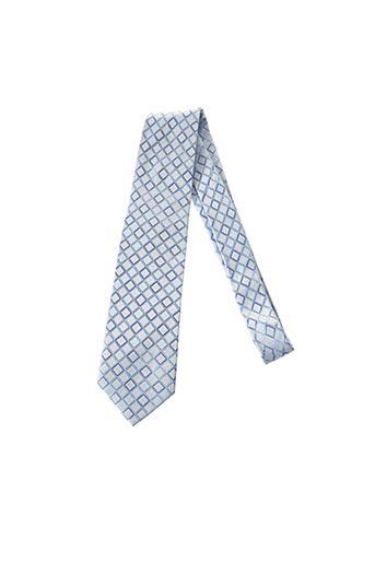 Cravate bleu ELIOS pour homme