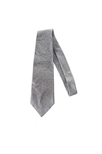Cravate gris ELIOS pour homme