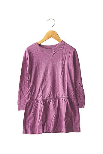 Robe mi-longue violet BON AGE pour fille