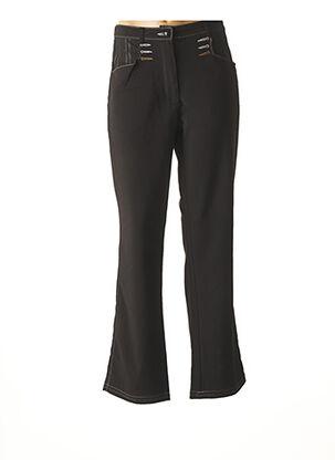 Pantalon casual marron BE THE QUEEN pour femme
