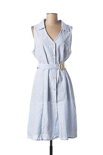 Robe mi-longue bleu R&F pour femme