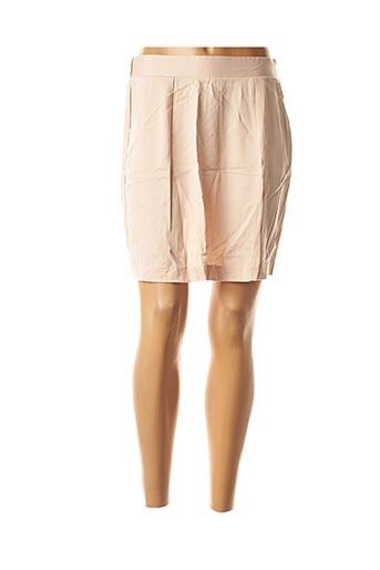Jupe courte rose BEST MOUNTAIN pour femme