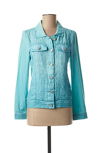 Veste casual bleu DOLCEZZA pour femme