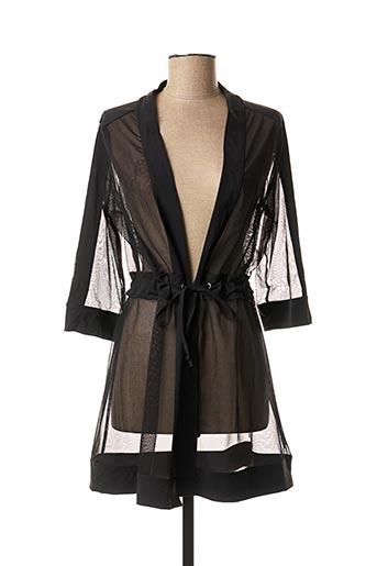 Veste chic / Blazer noir MALOKA pour femme