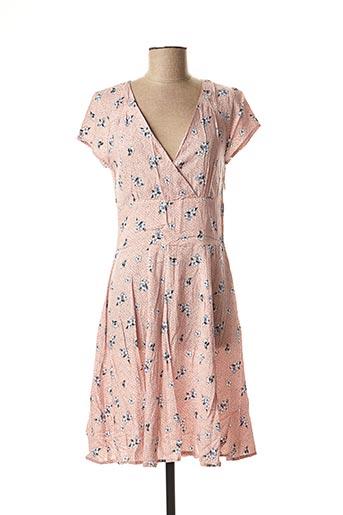 Robe mi-longue rose BEST MOUNTAIN pour femme