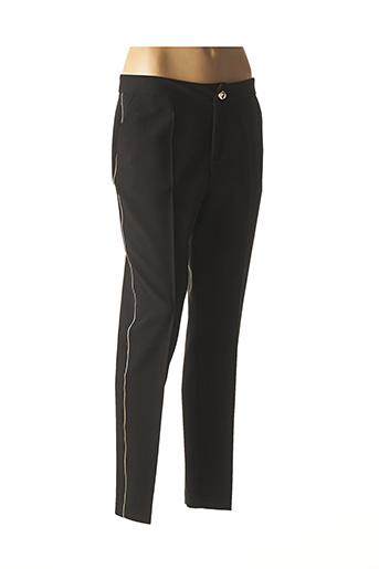 Pantalon 7/8 noir BRUNELLA pour femme