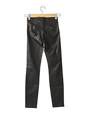 Pantalon casual noir ARMANI pour femme seconde vue