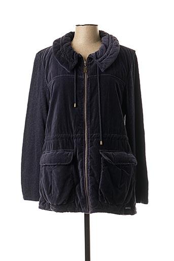 Manteau court bleu BLUE WILLI'S pour femme