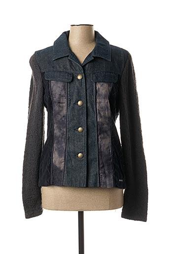 Veste casual bleu BLUE WILLI'S pour femme
