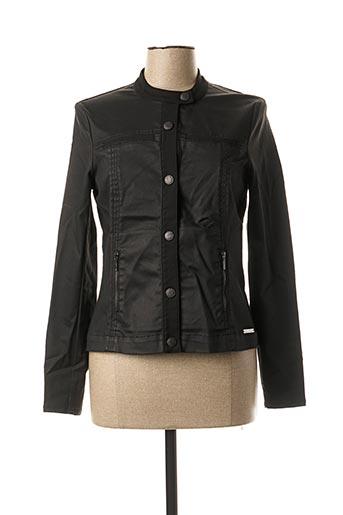 Veste casual noir MAE MAHE pour femme