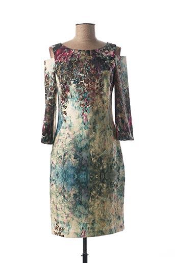 Robe mi-longue vert MICHAELA LOUISA pour femme