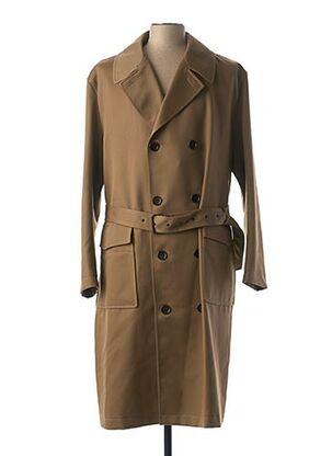 Manteau long marron HUGO BOSS pour homme