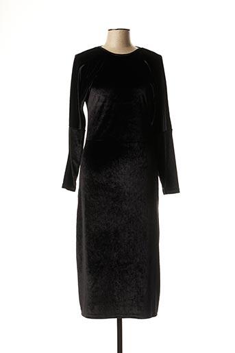 Robe longue noir DROLATIC pour femme