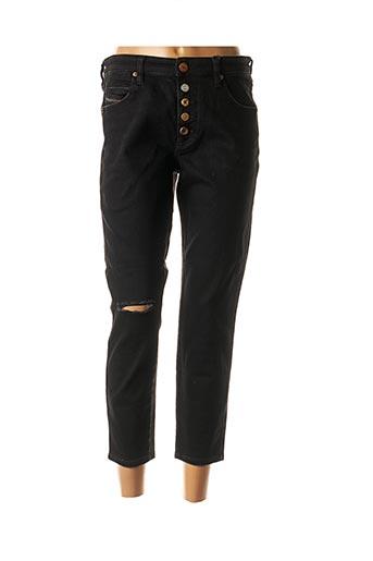 Jeans coupe slim noir DIESEL pour femme