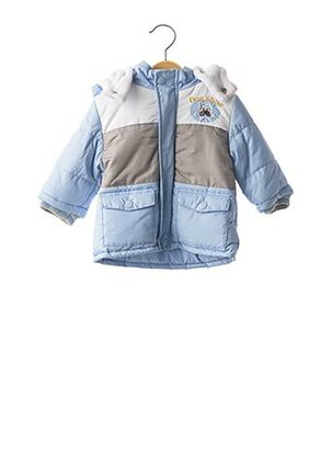 Doudoune bleu TEDDY LU pour enfant