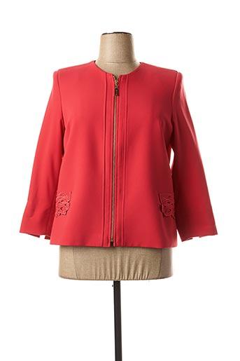 Veste chic / Blazer rouge CHEMA BLANCO pour femme