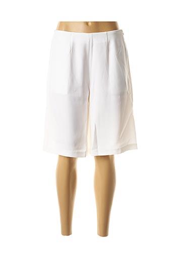 Bermuda blanc GEORGEDÉ pour femme
