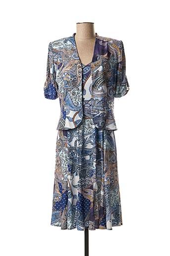 Veste/robe bleu GEORGEDÉ pour femme