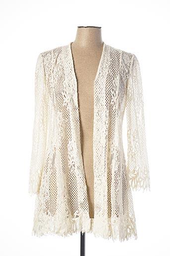 Veste casual beige GEORGEDÉ pour femme