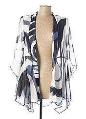 Veste casual bleu GEORGEDÉ pour femme seconde vue