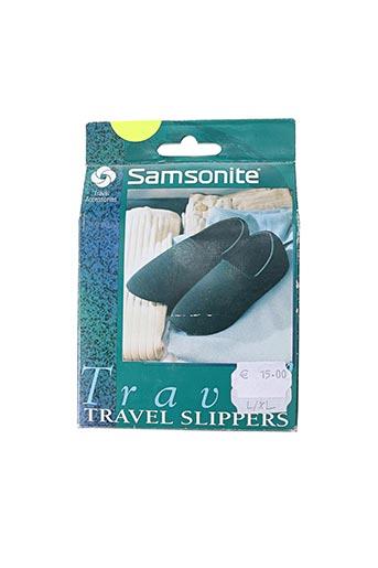 Chaussons/Pantoufles bleu SAMSONITE pour unisexe