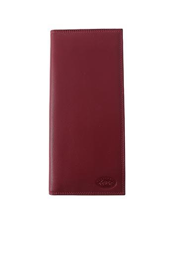 Portefeuille rouge FRANCINEL pour femme