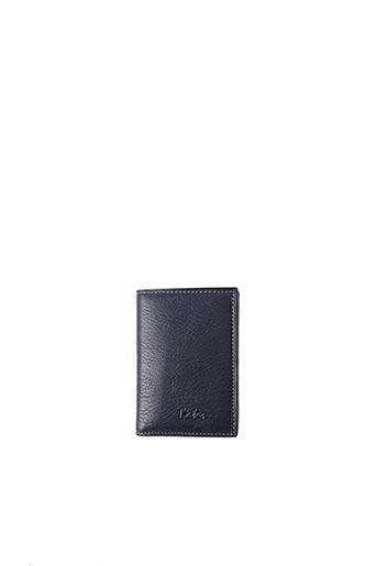 Porte-carte bleu KATANA pour unisexe