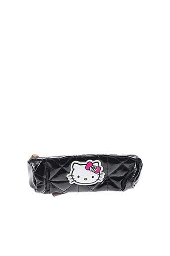 Trousse noir HELLO KITTY pour fille