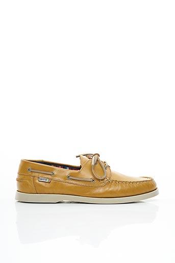 Chaussures bâteau marron ISCO pour homme