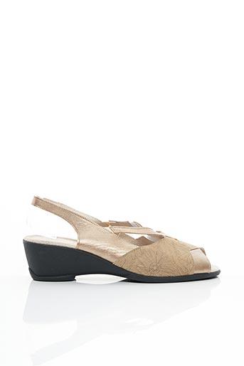 Chaussures de confort beige BOISSY pour femme