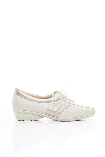 Chaussures de confort beige FLEXOLINE pour femme