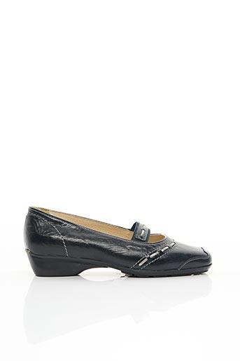 Chaussures de confort bleu FLEXOLINE pour femme
