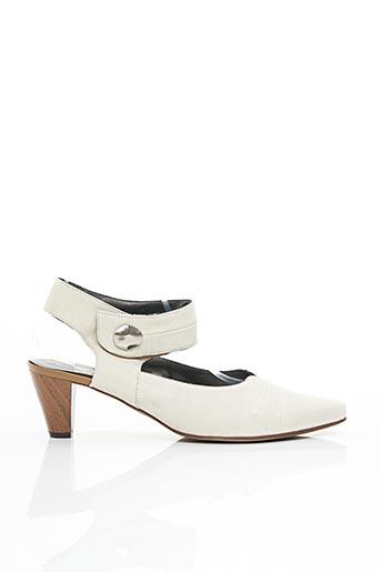 Sandales/Nu pieds blanc ELANTINE pour femme