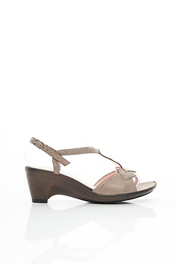 Sandales/Nu pieds marron ELANTINE pour femme