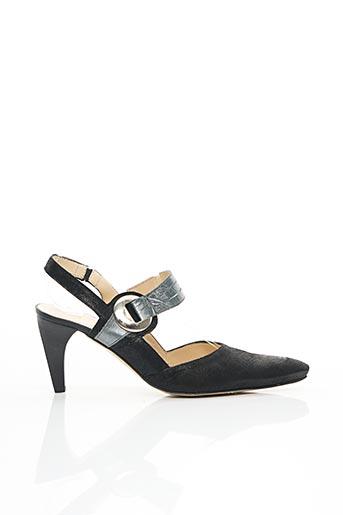 Sandales/Nu pieds noir FRANCE RIVOIRE pour femme