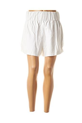 Short blanc GAELLE CONSTANTINI pour femme