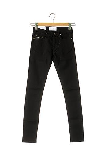 Jeans coupe slim noir APRIL 77 pour femme