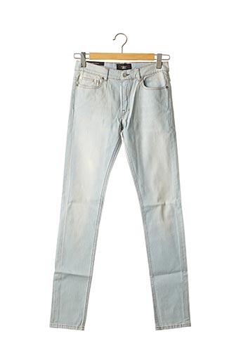Jeans coupe slim bleu JAVEL pour homme