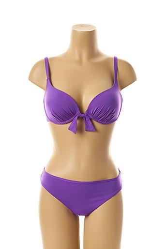 Maillot de bain 2 pièces violet SIMONE PERELE pour femme