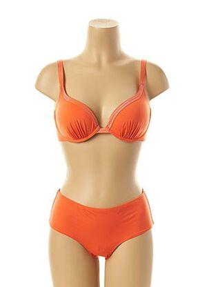 Maillot de bain 2 pièces orange SIMONE PERELE pour femme