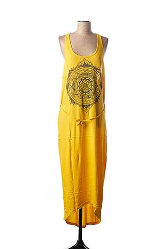 Robe longue jaune O'NEILL pour femme