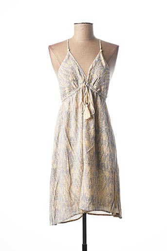 Robe mi-longue beige O'NEILL pour femme
