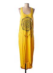 Robe longue jaune O'NEILL pour femme seconde vue