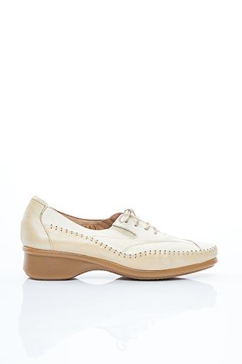 Chaussures de confort beige FLEXELL pour femme