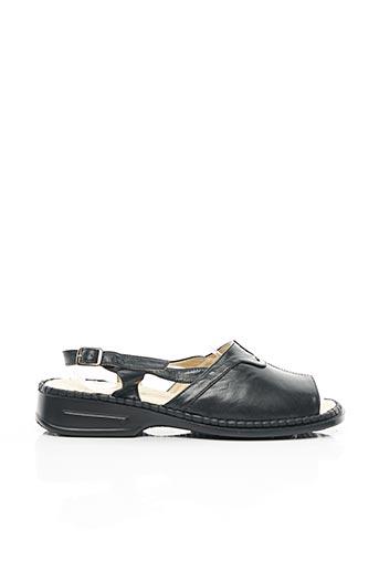 Chaussures de confort noir FARGEOT pour femme