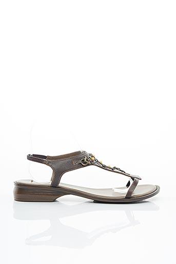 Sandales/Nu pieds marron ESSENTIELS pour femme
