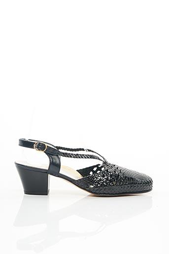 Sandales/Nu pieds noir BERTIN pour femme