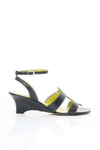 Sandales/Nu pieds noir ESSENTIELS pour femme
